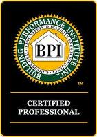BPI Logo BPI Certified Logo BPI Certified Professional Logo Home Inspection House
